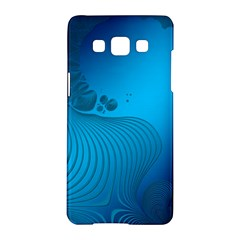 Fractals Lines Wave Pattern Samsung Galaxy A5 Hardshell Case  by Simbadda