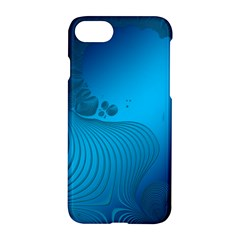 Fractals Lines Wave Pattern Apple Iphone 7 Hardshell Case by Simbadda