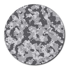 Camouflage Patterns  Round Mousepads