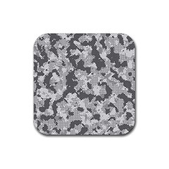 Camouflage Patterns  Rubber Square Coaster (4 Pack)  by Simbadda