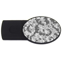 Camouflage Patterns  Usb Flash Drive Oval (2 Gb) by Simbadda
