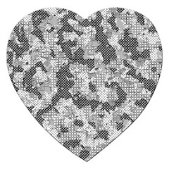 Camouflage Patterns  Jigsaw Puzzle (heart)