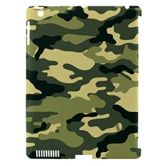 Camouflage Camo Pattern Apple Ipad 3/4 Hardshell Case (compatible With Smart Cover) by Simbadda