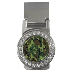 Military Camouflage Pattern Money Clips (cz)  by Simbadda