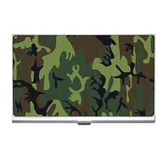 Military Camouflage Pattern Business Card Holders by Simbadda
