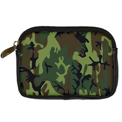 Military Camouflage Pattern Digital Camera Cases by Simbadda