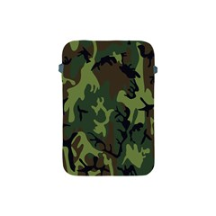 Military Camouflage Pattern Apple Ipad Mini Protective Soft Cases by Simbadda