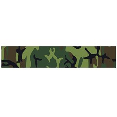 Military Camouflage Pattern Flano Scarf (large) by Simbadda