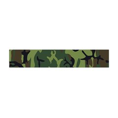 Military Camouflage Pattern Flano Scarf (mini) by Simbadda