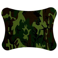 Military Camouflage Pattern Jigsaw Puzzle Photo Stand (bow) by Simbadda