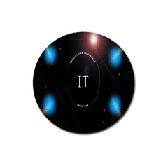 This Is An It Logo Magnet 3  (round) by Simbadda