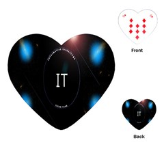 This Is An It Logo Playing Cards (heart)  by Simbadda
