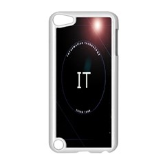 This Is An It Logo Apple Ipod Touch 5 Case (white) by Simbadda