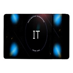 This Is An It Logo Samsung Galaxy Tab Pro 10 1  Flip Case by Simbadda