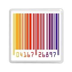 Colorful Gradient Barcode Memory Card Reader (square)