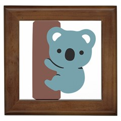 Animal Koala Framed Tiles by Alisyart