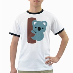 Animal Koala Ringer T Shirts