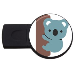 Animal Koala Usb Flash Drive Round (4 Gb)