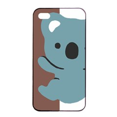 Animal Koala Apple Iphone 4/4s Seamless Case (black) by Alisyart