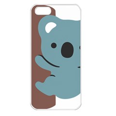 Animal Koala Apple Iphone 5 Seamless Case (white) by Alisyart
