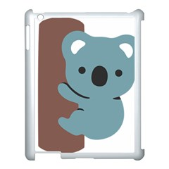Animal Koala Apple Ipad 3/4 Case (white)