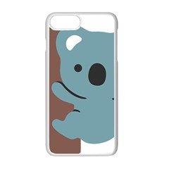 Animal Koala Apple Iphone 7 Plus White Seamless Case by Alisyart