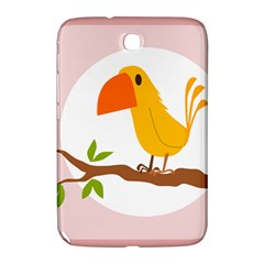 Yellow Bird Tweet Samsung Galaxy Note 8 0 N5100 Hardshell Case  by Alisyart