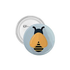 Animals Bee Wasp Black Yellow Fly 1 75  Buttons by Alisyart