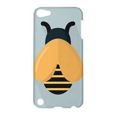 Animals Bee Wasp Black Yellow Fly Apple Ipod Touch 5 Hardshell Case
