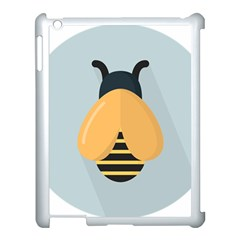 Animals Bee Wasp Black Yellow Fly Apple Ipad 3/4 Case (white)