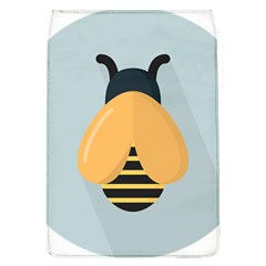 Animals Bee Wasp Black Yellow Fly Flap Covers (l)  by Alisyart