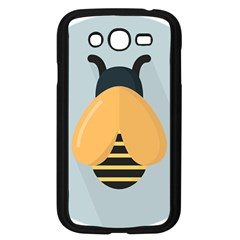 Animals Bee Wasp Black Yellow Fly Samsung Galaxy Grand Duos I9082 Case (black)