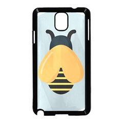 Animals Bee Wasp Black Yellow Fly Samsung Galaxy Note 3 Neo Hardshell Case (black)