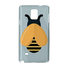 Animals Bee Wasp Black Yellow Fly Samsung Galaxy Note 4 Hardshell Case by Alisyart