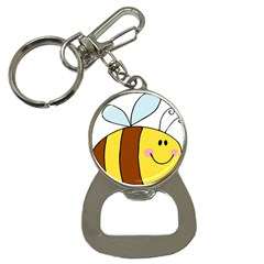 Animals Bee Wasp Smile Face Button Necklaces