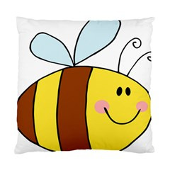 Animals Bee Wasp Smile Face Standard Cushion Case (one Side) by Alisyart