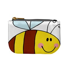 Animals Bee Wasp Smile Face Mini Coin Purses