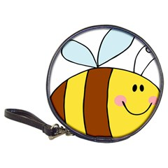Animals Bee Wasp Smile Face Classic 20 Cd Wallets