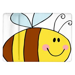 Animals Bee Wasp Smile Face Samsung Galaxy Tab 10 1  P7500 Flip Case