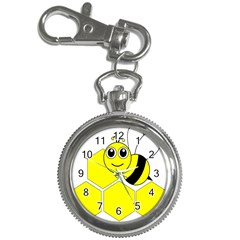 Bee Wasp Yellow Key Chain Watches by Alisyart