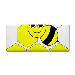 Bee Wasp Yellow Cosmetic Storage Cases by Alisyart