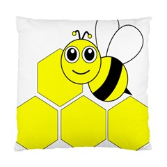 Bee Wasp Yellow Standard Cushion Case (one Side) by Alisyart