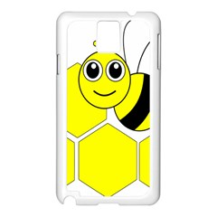 Bee Wasp Yellow Samsung Galaxy Note 3 N9005 Case (white)