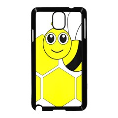 Bee Wasp Yellow Samsung Galaxy Note 3 Neo Hardshell Case (black)
