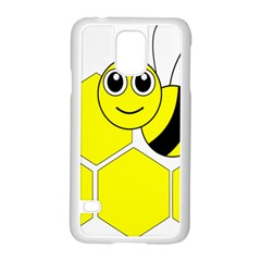Bee Wasp Yellow Samsung Galaxy S5 Case (white)