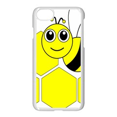 Bee Wasp Yellow Apple Iphone 7 Seamless Case (white) by Alisyart