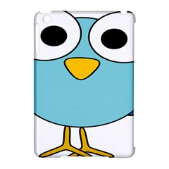 Bird Big Eyes Blue Apple Ipad Mini Hardshell Case (compatible With Smart Cover)