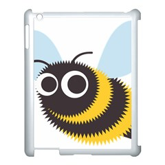 Bee Wasp Face Sinister Eye Fly Apple Ipad 3/4 Case (white)