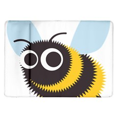 Bee Wasp Face Sinister Eye Fly Samsung Galaxy Tab 10 1  P7500 Flip Case