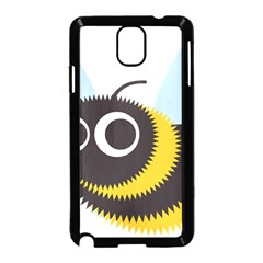 Bee Wasp Face Sinister Eye Fly Samsung Galaxy Note 3 Neo Hardshell Case (black)